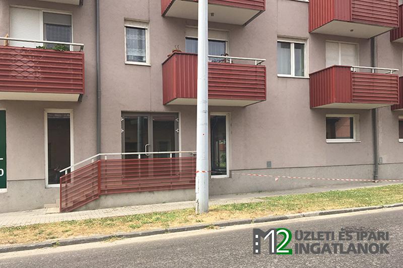 434 m²-es üzlethelyiség, Budapest, Óbuda